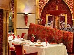 Restaurante Al Iwan, en el Burj Al Arab
