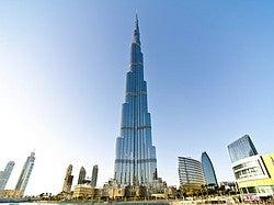 Burj Khalifa, el edificio más alto del mundo