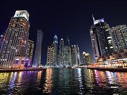 Dubai Marina desde el barco