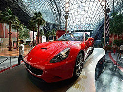 Recorriendo Ferrari World