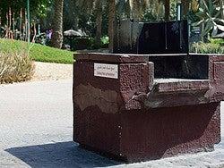 Jumeirah Beach Park, barbacoa
