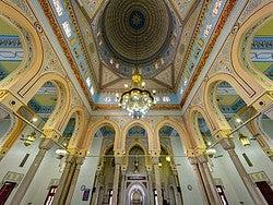Mezquita Jumeirah, interior