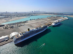 Puerto de cruceros de Dubái