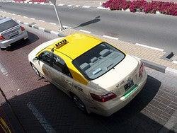 Taxi de Dubai