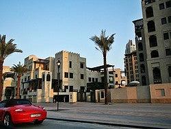 Trabajadores en Dubai, casas de expatriados