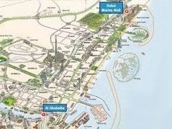 Rutas del ferry de Dubai