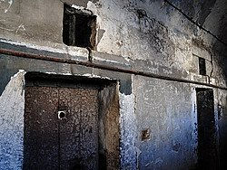 Prisão de Kilmainham, detalhe das celas