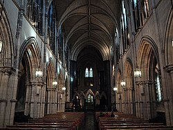 Christ Church Cathedral, interior