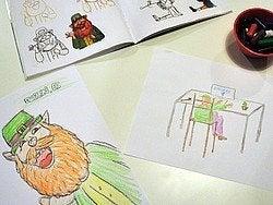 Museo del Leprechaun, dibujos