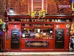 The Temple Bar, uno de los pubs estrella de Dublín