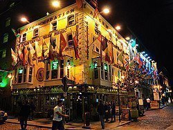 Temple Bar, pub irlandes