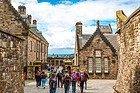 All'interno del Castello di Edimburgo