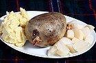 Haggis, el plato más típico de Escocia