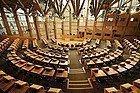 Parlamento Escocés, sala de debate