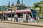 Tranvías en Edimburgo