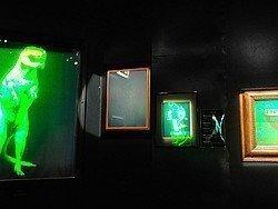 Cámara Oscura de Edimburgo, hologramas