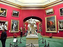 Galería Nacional de Escocia, interior