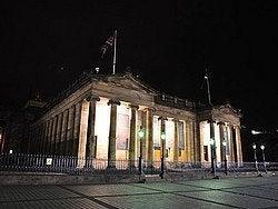 Galería Nacional de Escocia, noche