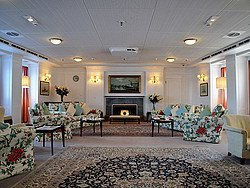 Royal Yacht Britannia, salon