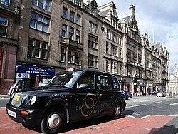 Taxi de Edimburgo