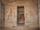 Abu Simbel: Interior del templo