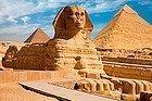 Egipto, esfinge y pirámides