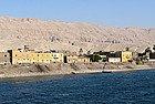 Paisaje de la orilla Nilo