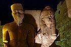 Templo de Lúxor: Tutankamon y esposa