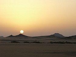 Historia Egipto: Desierto