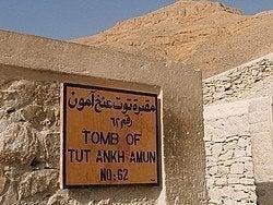 Valle de los Reyes: Tumba de Tutankamon