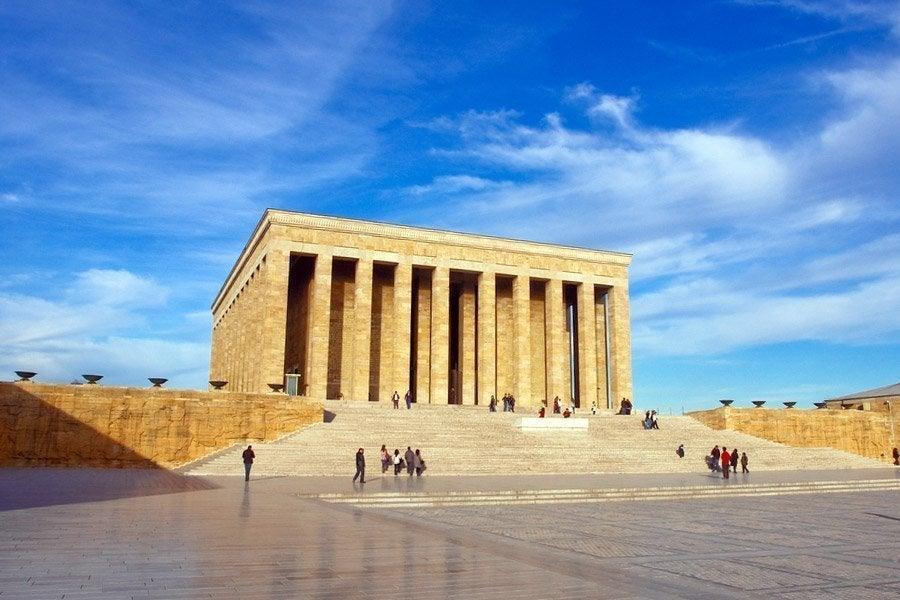 Mausoleo de Ataturk, Ankara