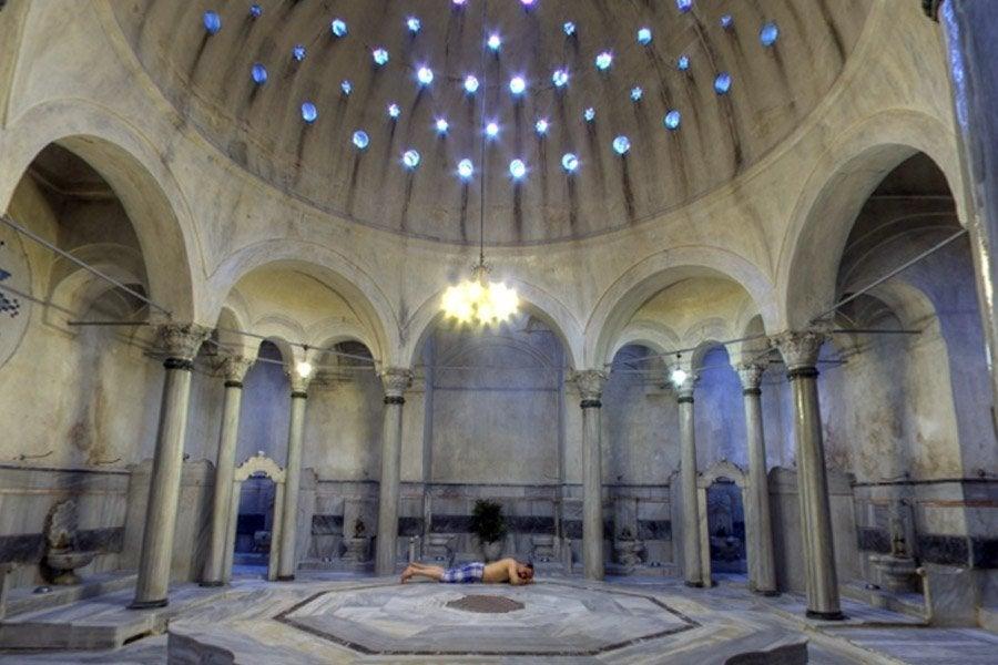 Baño Turco Kadirga Hamami Estambul:Hamam Turkish Bath Istanbul