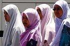 Cuatro chicas recorriendo Estambul
