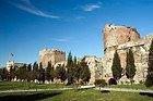 Cuerno de Oro, Murallas de la Ciudad Bizantina