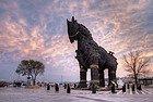 Troya y su famoso caballo