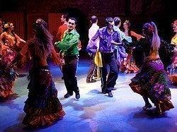 Espectáculo de folclore turco