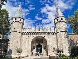 Palacio Topkapi, Entrada