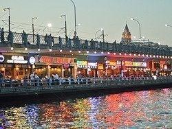 Restaurantes en el Puente de Galata