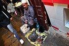 Barrio Andaluz, vendedor ambulante de huevos y gallinas