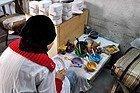 Compras en Fez, ceramica