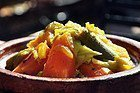 Cuscus, plato tipico de Marruecos