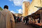 Tiempo en Fez, recorriendo el mercado en enero