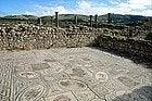 Volubilis, Mosaico de las Pruebas de Hércules