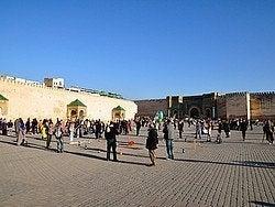 Meknes, Plaza el-Hedim