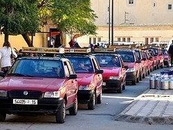 Transporte en Fez, Taxis