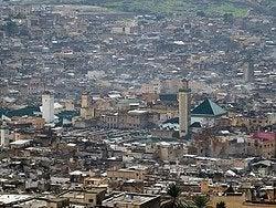 Vistas de Fez desde el Borj Nord