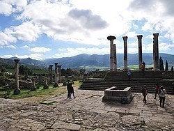 Volúbilis, Templo de Júpiter