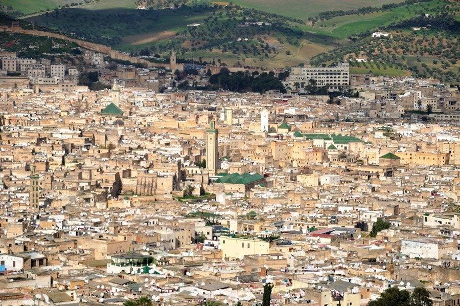 Vistas de Fez desde el Borj Sud