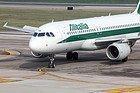 Aeropuerto de Florencia, Avión de Alitalia