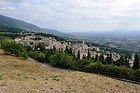 Assisi from the Rocca Maggiore